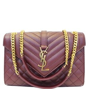 YVES SAINT LAURENT Bags - YVES SAINT LAURENT ENVELOPE MEDIUM CHAIN SHOULDER